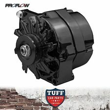 Holden LH LX Torana 253 308 V8 Proflow Black Alternator 140 Amp Internal Reg New