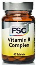 FSC Vitamin B Complex 60 Tablets. **BUY 1 GET 1 FREE**