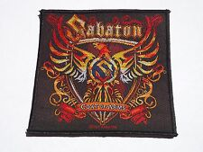 SABATON COAT OF ARMS WOVEN PATCH