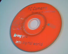 CD mini size PC Camera Driver and Utilities