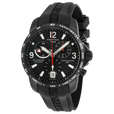 Certina DS Podium GMT Black Dial Black Rubber Mens Quartz Watch C0016391705700