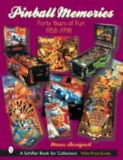 PINBALL MEMORIES - NEW HARDCOVER BOOK