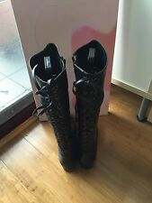 Jigsaw Sabrina Lace Up Boots - Pre-owned