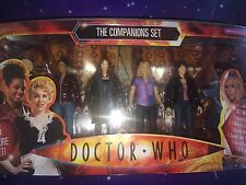 DOCTOR WHO RARE 6 FIGURE COMPANION SET ASTRID MARTHA DONNA ROSE SARAH JANE & K9