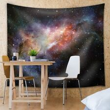 Colorful Galaxies - Fabric Tapestry, Home Decor - 68x80 inches