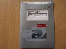 Audi TT Manuale officina Rifornimento di combustibile Motore benzina dal 99