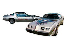 1979  Firebird Trans Am 10th ANNIVERSARY Decals KIT WITH ROLL Stripes