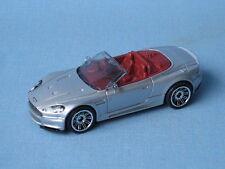 Matchbox Aston Martin Dbs Volante Cabrio Convertible Plata Coche Modelo de juguete 1