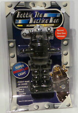 ROBBY THE ROBOT : ROBBIE THE MACHINE MAN ALARM CLOCK SYSTEM IN BLACK (MN)