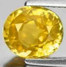 3.13 cts Natural Oval-cut Yellow VS1 Zircon (Cambodia)