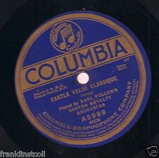 Earl Fuller's Rector Novelty Orchestra on 78 rpm Columbia A5989: Castle Valse