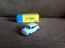 CORGI/SOLIDO FIAT 600 A CENTURY OF CARS IN PALE BLUE