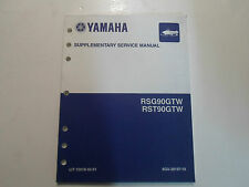 2007 Yamaha RSG90GTW RST90GTW Snowmobile  Service Supplementary Manual OEM