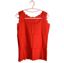 2016 Chiffon Tops Charm Womens Vest Slim Sleeveless Shirt Casual Blouse W1E