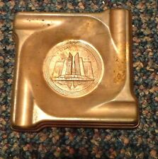1933 Chicago World's Fair souvenir ashtray Chrysler Motors Building