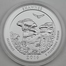 2016-P 25C Shawnee NF Illinois 5 oz Silver Specimen Coin with Mint Box & COA