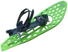 """MORPHO TRIMALP Composite Light Snowshoes Snow Shoes 30""""x10"""" Large Made in France"""