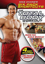 *NEW* Mike Chang's Six Pack Shortcuts: The Total Body Workout (DVD 2013) Sealed!