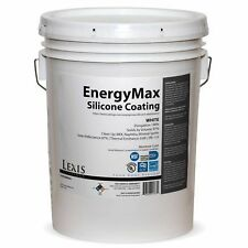 LEXIS EnergyMax Silicone Roof Coating 5 Gallon White - Factory Direct