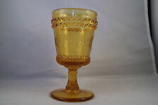Elegant LG Wright Glass Wildflower Wine Goblet 5 3/4""