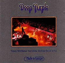 Made in Europe [Remastered] [Remaster] by Deep Purple (Rock) (CD, Jul-2007,...