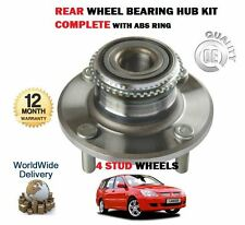 FOR MITSUBISHI  LANCER 1.6 2.0 SPORT 2003-2008 4 STUD NEW REAR WHEEL BEARING KIT