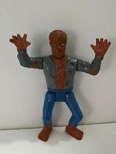 1990's Sungold Monster Toys Wolfman Werewolf Action Figure Rubber Head *RARE!*