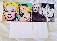 NEW MARILYN MONROE Greeting Card Set of 4 Designs with Envelopes Full Color
