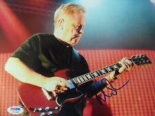 BERNARD SUMNER NEW ORDER AUTHENTIC 8 x 10 inch SIGNED PHOTO PSADNA COA