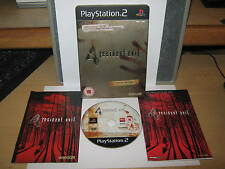 RESIDENT EVIL 4 LIMITED EDITION PS2 STEEL CASE GAME BUY IT NOW.