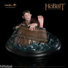 WETA - The Hobbit: The Desolation of Smaug – Bilbo Baggins Barrel Rider Figure