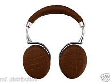 Parrot Zik 3 by Philippe Starck, Brun Croco + chargeur sans fil Neuf