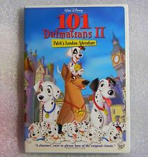 GENUINE DISNEY 101 Dalmatians II Patch's London Adventure WS DVD Family Friendly