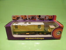 SIKU 343 ADAC- PRUFWAGEN STRASENWACHT  - IN ORIGINAL BOX -   GOOD CONDITION