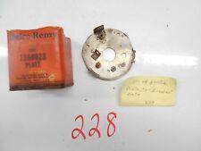 NOS 1937-1949 Pontiac Oldsmobile Distributor Breaker Plate Delco Remy 1866028