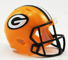 NEW NFL American Football Riddell SPEED Pocket Pro Helmet GREEN BAY PACKERS