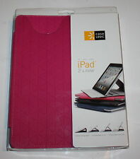 Case LOGIC IFOL-301 PNK Hard Shell Polycarbonate Folio for iPad 2/3 & 4th Gen,
