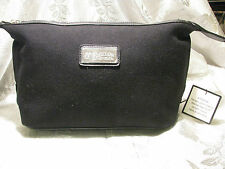 "C.O. Bigelow tote/men's toiletry bag, black canvas; 9x5.5x15""; #FC103"