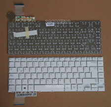 NEW For SAMSUNG 370R4E NP450r4v NP370R4E Keyboard Latin Spanish Teclado White