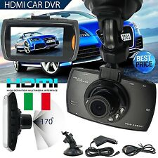 "MINI VIDEOCAMERA DVR REGISTRATORE PER AUTO HD LCD 2,7"" 1080P SD DASH CAM INTERNA"