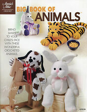 Big Book of Animals ~ Tiger Elephant Unicorn & More, Annie's crochet patterns