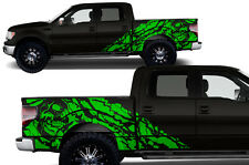 Custom Vinyl Decal Graphics Nightmare Wrap Kit for Ford F-150 09-14 Grass Green