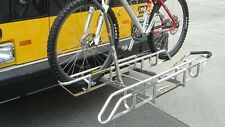 Sportworks DL2 NP Stainless Steel Fold Down Bicycle Bike Rack for RV Bus Truck