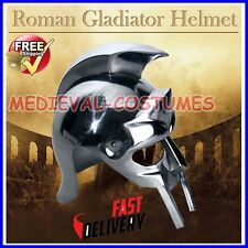 Gladiator Maximus Roman Helmet Medieval Armor Wearable Ag3