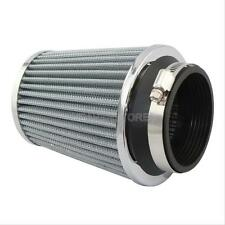3inch 75mm Car Air Filter Clean Intake High Flow Short RAM/COLD Round Cone White