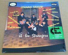 JOHNNY TAYLOR Et les Strangers 180 GRAM LP Vinyl SEALED Hallyday Vince 2008
