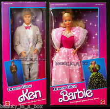 Dream Glow Barbie & Ken Doll Classic 1985 NRFB