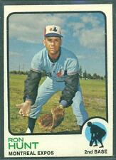 1973 TOPPS  # 149 RON HUNT EXPOS NM-