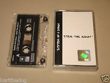 SYSTEM OF A DOWN - Steal This Album - MC Cassette official polish tape 2002/353