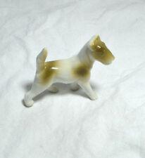 German Fox Terrier Figurine Marked Germany Porcelain Bone China